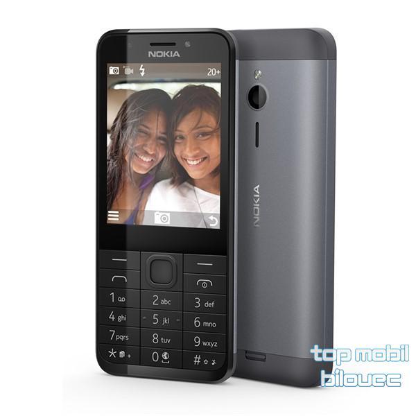 Nokia 230 Dual SIM Dark Silver - CZ DISTRIBUCE